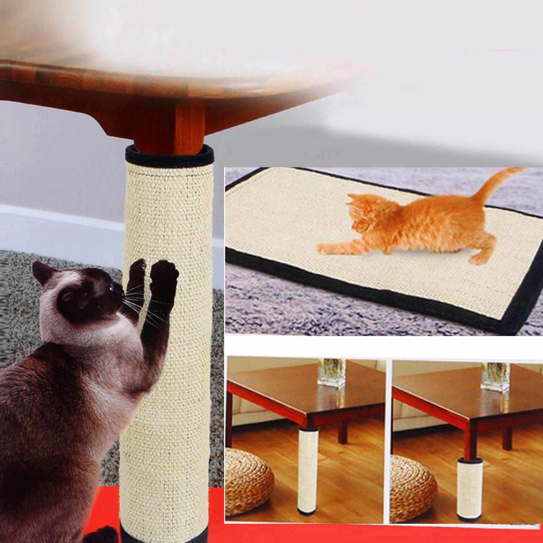 Прочная моющаяся Когтеточка для кошек, Когтеточка, подставка для мебели, стол, стул, защита для ног, защитная крышка, 15,75x11,81 дюймов