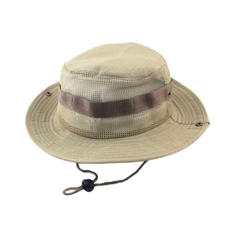 cef63e505f0 Detail Feedback Questions about Dropshipping Camouflage Bucket Hats Caps  Adjustable Boonie Hats Nepalese Caps 9 Colos Good Army Mens Fisherman Mesh  Hat Good ...