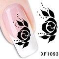 Japão adesivos de unhas Nail Polish adesivos para unhas Ru Nail Art salão de beleza adesivos de lótus mulheres BXF1093