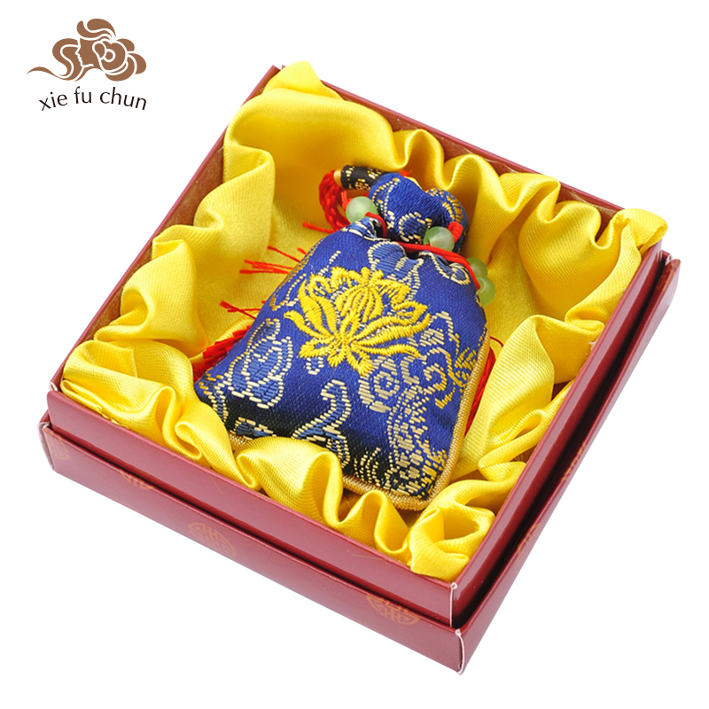 Xiefuchun Chinese Sandalwood Perfume Sachet Scented Sachet Car Perfume Fragrance Bag Fragrance Deodorant Air Freshener XFC12 4