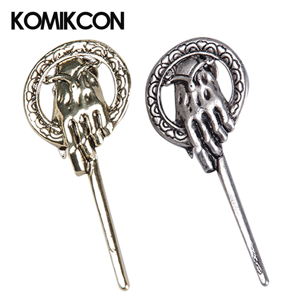Game Of Thrones Hand Of The King Pin Song Of Ice And Fire Brooch Lapel Inspired Authentic Prop Badge Brooches Cosplay Jewelry