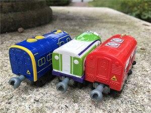 Image 2 - Takara Tomy Chuggington Trains Wilson/KOKO/Brewster 3pcs Toy Cars New No Package