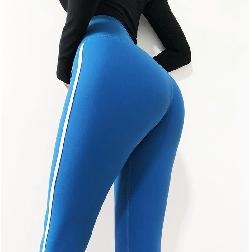 High Waisted Red Moto Fitness Yoga Pants for Women Big Booty Gym Leggings Sports Running Workout Pants Compression Sport Tights 6