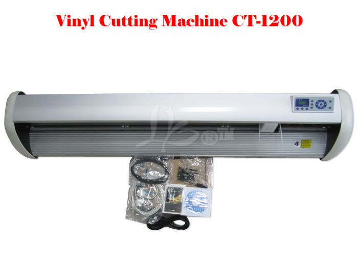 CT-1200 Vinyl cutting plotter cutter machine for logos, labels, stickers, transfers, POP signs, shop signs and etc цена и фото