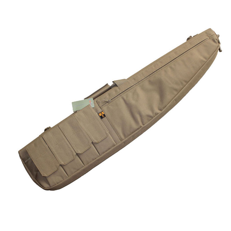 ФОТО Tactical Rifle Carbine Slip Cushion Padded Bag With Magazine pouches