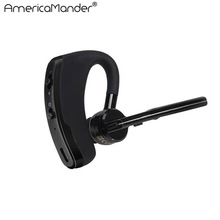 Handsfree V8 business bluetooth headset earphone with mic voice control wireless bluetooth headphone for sports noise cancelling