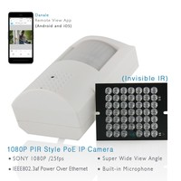 ANTS Full HD 1080P 2Mega Pixel Onvif PIR Style IP Camera With IEEE802 3af PoE Feature