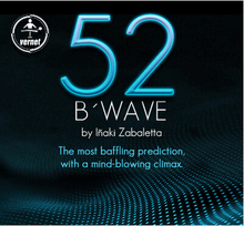 2014 52 B'Wave by Vernet -card Magic tricks