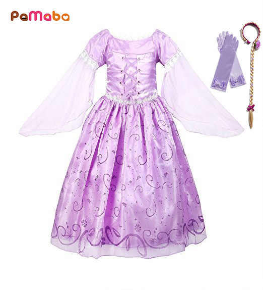 530060f964 Detail Feedback Questions about PaMaBa Princess Girls Dress in Kids ...