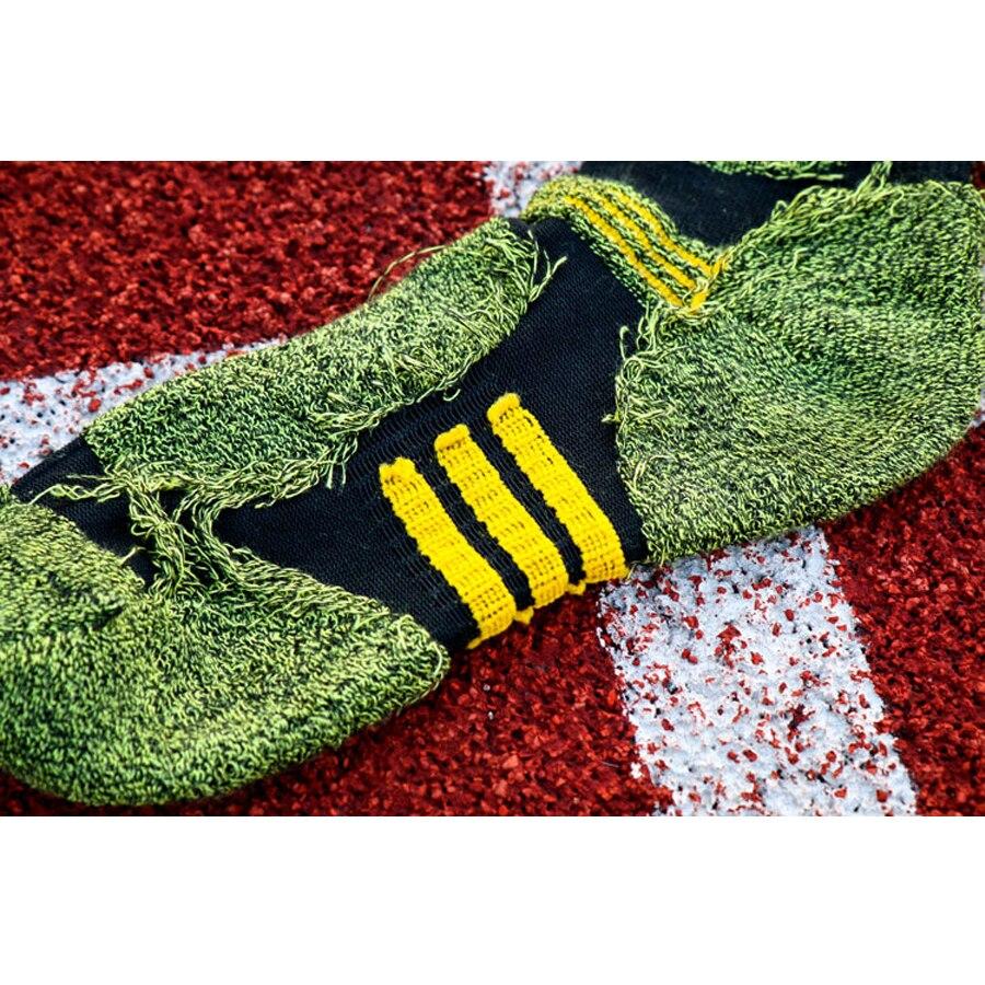 1 lot = 5 pari Pamučne čarape za kompresije za muškarce trekking - Donje rublje - Foto 3