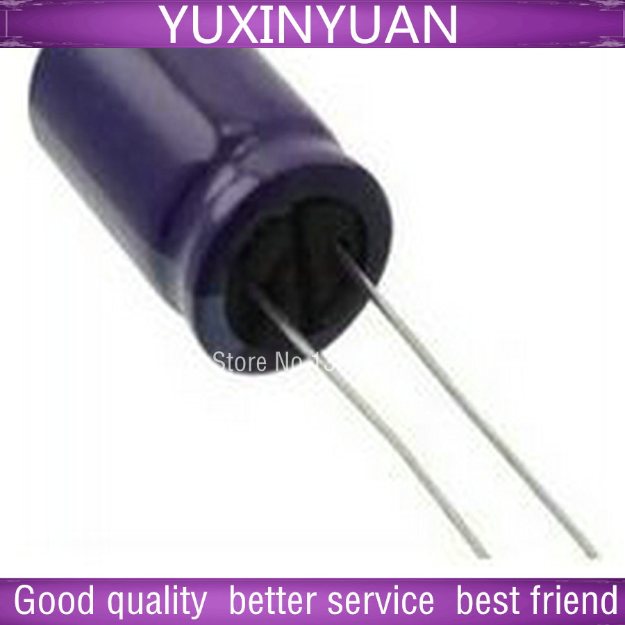 10 PCS/LOT 50 v 330 uf 330 method 50 v v volume 10 * 16 105 degrees into the aluminum electrolytic capacitor long life image