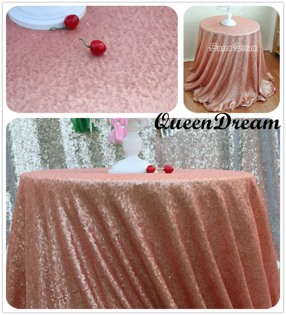 online get cheap modern table linens round tables aliexpresscom  -  inches round blush sequin tablecloth choose your sizesequin tableclothwholesale sequin table cloths for wedding decoration