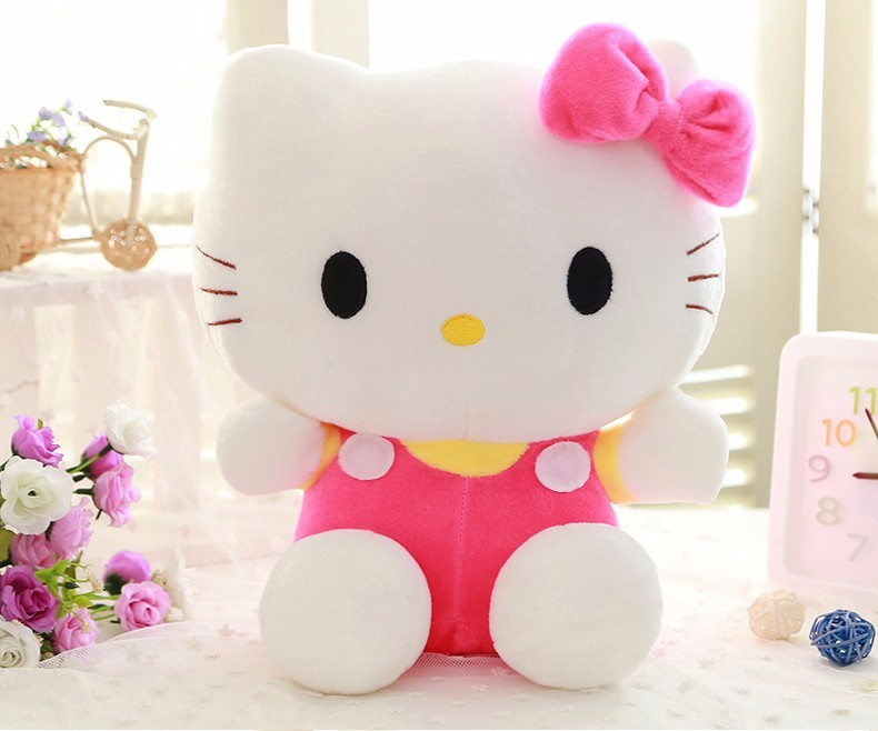 Hello Kitty Plush Toys : Online cheap hot mix colors wedding plush toy cm middle size