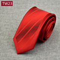 2017 New Design 6cm Polyester Silk Tie for Men Striped High Quality Neckties Man's Neck Tie for  Business Party Various Styles