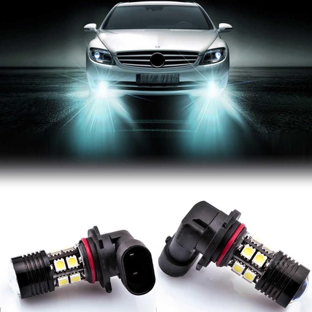 New Car-styling 9W Car Auto 12+1 SMD LED HB4 9006 Pure White Running Lamp light Fog  Lights Bulb DC12V