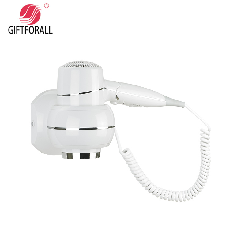 GIFTFORALL Hairdryer Professional Styling Wall Mounted Portable not hurt the hair windHotel Bathroom Home Hair Dryer D157 giftforall hair dryer hotel bathroom home professional hair salon powerful wall mounted portable mini hairdryer d139 d