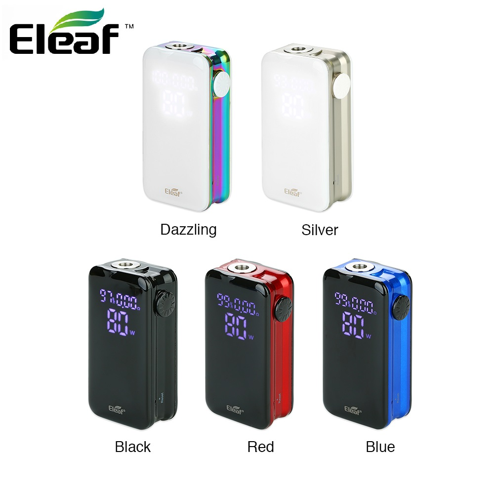 New Original 80W Eleaf IStick Nowos Mod With 4400mAh Built-in Battery 80W Max Output Touch Button Vape Box Mod Vs Revenger X