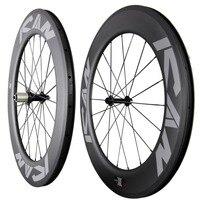 ICAN дороги углерода TT колеса велосипеда 86 мм довод бескамерные готов UD матовая с ican Краски обода 27 мм ширина колёса