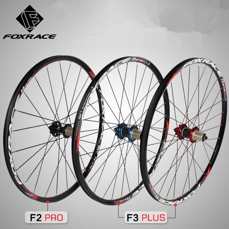 Foxrace MTB горный велосипед 26 27.5 дюйма ультра легкий углеродного волокна большой центр 6 когти DH AM колеса колесная 1480 г обода Диски