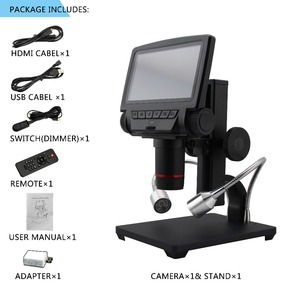 Image 2 - ANDONSTAR ADSM301 HDMI/USB Digital Mikroskop 3MP Messung Software für Telefon Reparatur Löten Werkzeug bga smt Uhr