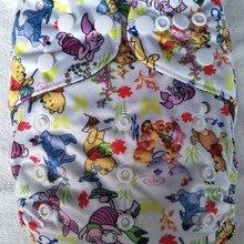 Naughtybaby моющиеся карманные пеленки Чехлы Бамбуковые Вставки Ткань Подгузники для новорожденного Многоразовые Детские Подгузники Ткань Подгузники 3-13 кг