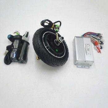 Silnik elektryczny skutera bezszczotkowy skuter piasty koło silnikowe silnik do 350W elektryczny skuter/mini hulajnoga 8 cal koła silnik w Silniki do rowerów elektrycznych od Sport i rozrywka na