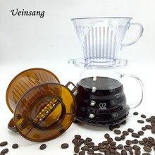 1 UNIDS 102-type taza de café de filtro/filtro de café por goteo cuencos manualmente folicular filtros de café y té herramientas