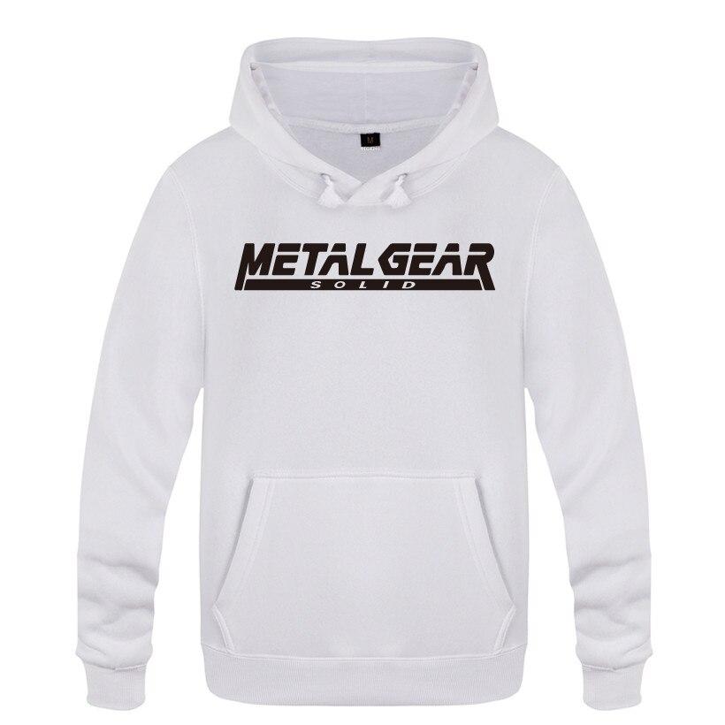 MGS металлические шестерни Твердые буквы толстовки для мужчин 2018 Мужской пуловер свитшот флисовый