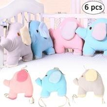 Fleece Elephant Bed Surround Cotton Newborn Color Bed Cartoon Baby Seat Baby Bedding