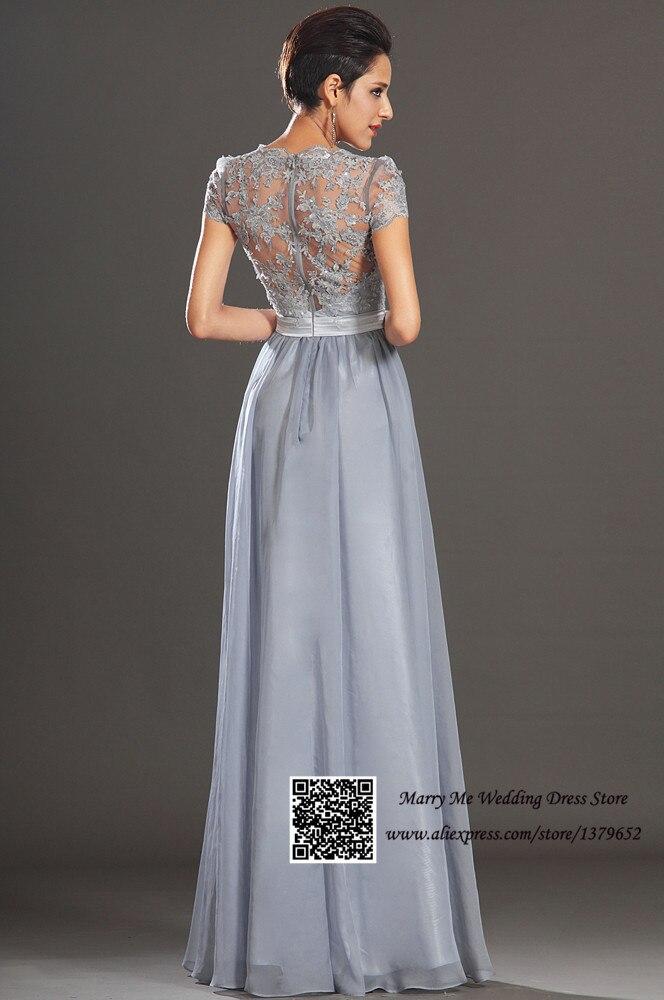 Vestidos para boda en plata