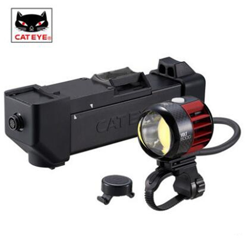 CATEYE HL-EL6000RC LED mountain bike riding bicycle accessories headlight lamp flashlight cycling light cateye hl el930rc bike rechargeable lamp super bright sumo3 light bicycle headlights