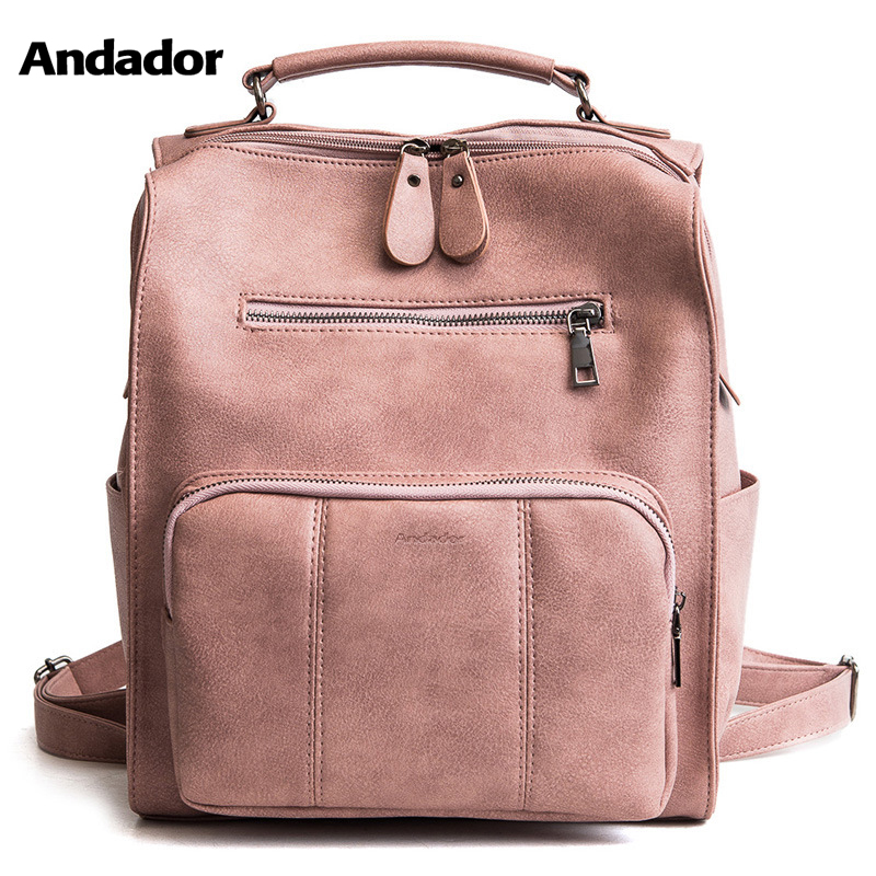 Girls Backpacks Shoulder-Bags Teenager Large-Capacity School Women New-Fashion PU Big-Bag
