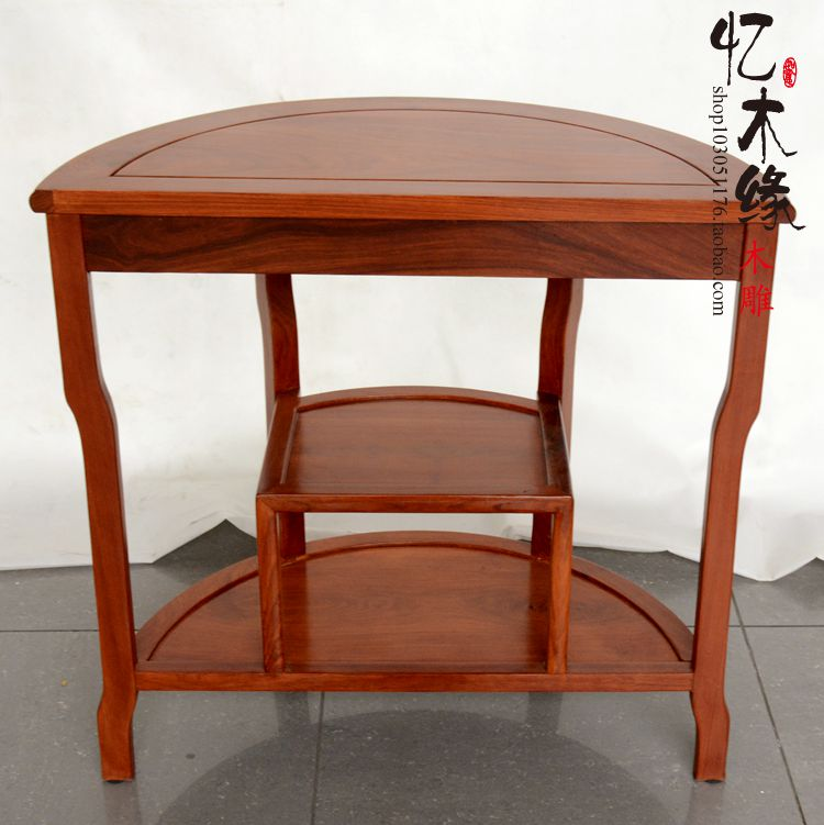Mahogany Furniture, Rosewood Table Frame Table Chinese Tea Semicircle Wood  Flower Shelf Porch Desk Phone Holder In Brackets From Home Improvement On  ...