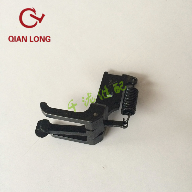 CSU-44 Three Simultaneous Double Needle Sewing Machine Parts Presser Foot Pressure Outside Standard 20618