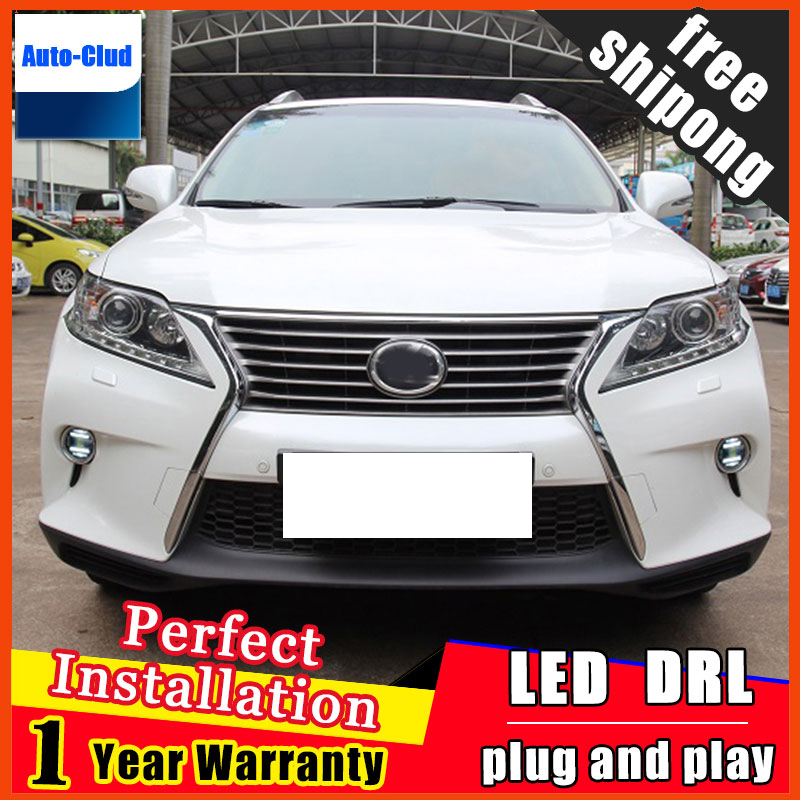 Car-styling LED fog light for Lexus LX 207-2013 LED Fog lamp with lens and LED daytime running ligh for car 2 function