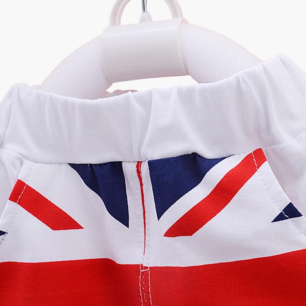 b8d4c4629 Clearance Baby Boys Girls Clothing Set Cotton Flag Print Vest Pants ...