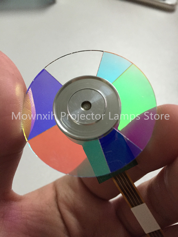 Wholesale Original Projector color wheel for OPTOMA HD141X GT1080 Color wheel projector color wheel for optoma ep776 free shipping