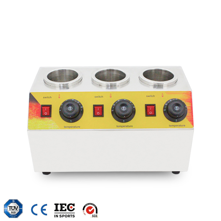 2018 new products hot selling high quality electric commercial  sauce warmer with cheaper price