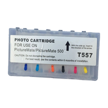 T557 Refillable Ink Cartridge For Epson Picture-Mate PM500 PM-500 Inkjet Photo Printer For Epson Picturemate Ink Cartridge T557 refillable cartridge for inkjet printer in 440ml