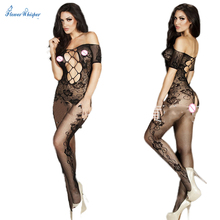 Women's Sexy Lingerie Hot Bodystocking Sexy Dress Underwear Stocking Sex Products Gridding Erotic Lingerie Sex Toys QQ005