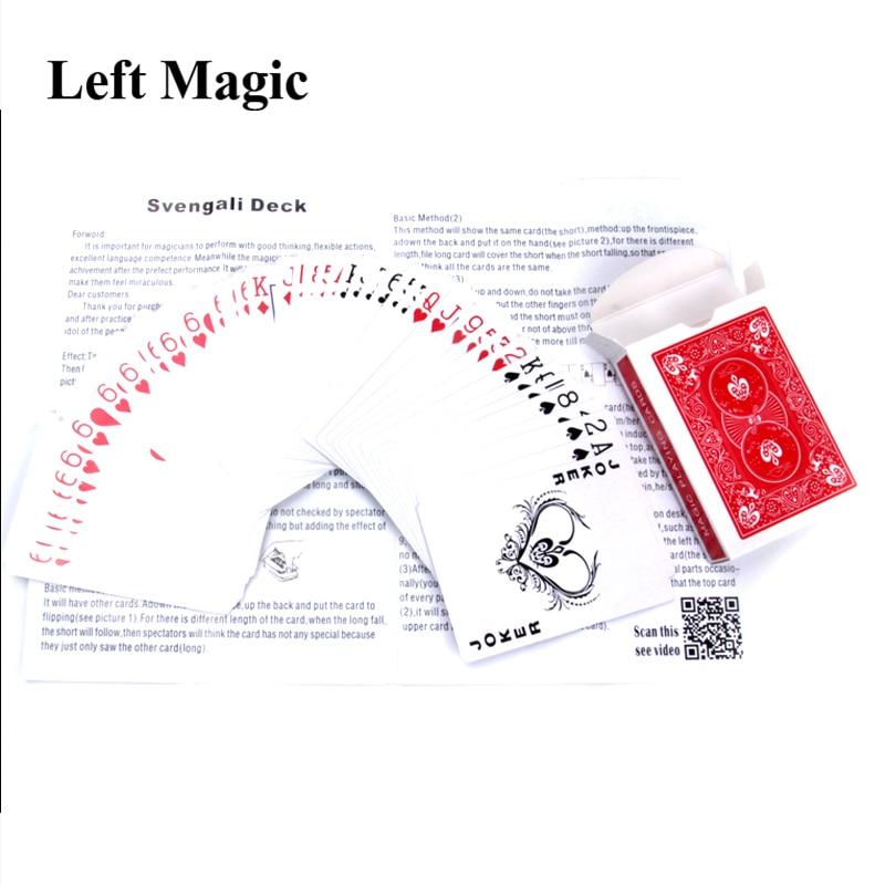 Svengali Deck Magic Gimmick Card Magic Tricks Magician Trick Magic Cards Close Up Street Magic Prop