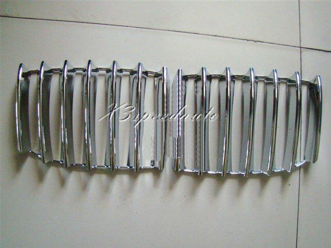 Revêtement d'habillage de Grille en plastique ABS chromé pour BMW X1 E84 10-13
