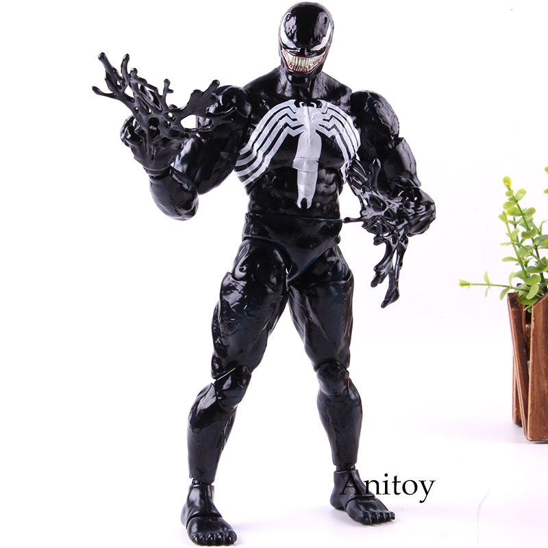 Marvel Venom Action Figure Hot Toys 1/6 Scale PVC Collection Model Toy Gift for Child