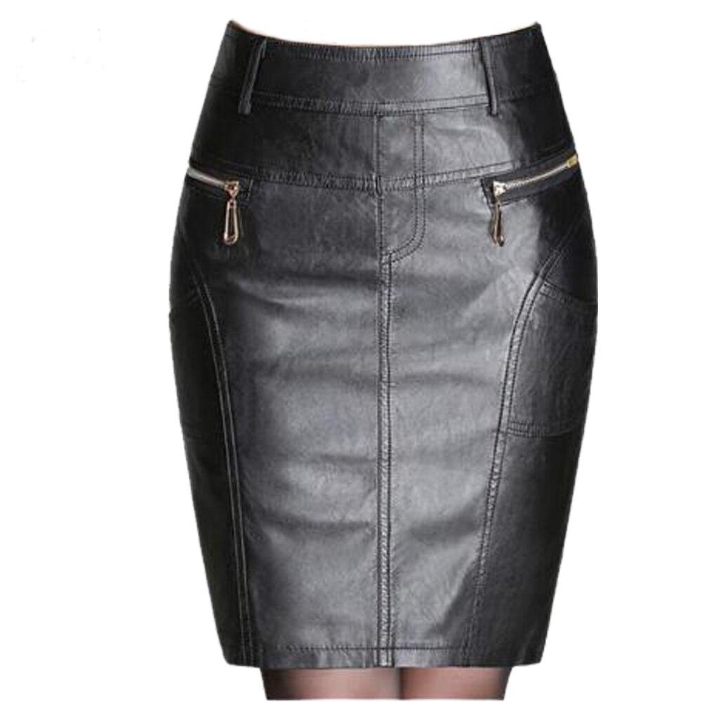 Кожаные юбки цена и фото
