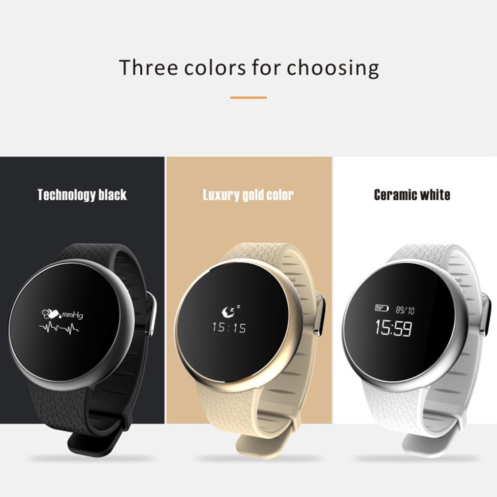 Color Touch Screen A98 Smartwatch Blood Pressure Oxygen Monitor Smart Bracelet Heart Rate Wristband Fitness Tracker Smartband