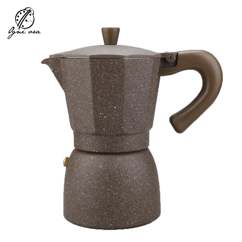 creativa cafeteras espresso latte mocha olla de acero inoxidable para la estufa de gas o elctrica de fcil limpieza para oficin