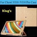 Оригинал Высокого качества PU чехол для Chuwi vi10 10.6 дюймов Tablet PC, для Chuwi vi10 Pro чехол Freeshipping + hot 3 подарки