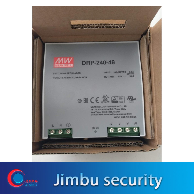 Selling Hot MEAN WELL DRP-240-48 48V 5A Meanwell DRP-240 48V 240W Single Output Industrial DIN Rail Power Supply
