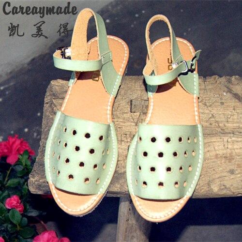 De nieuwe vrouwelijke zomer sandalen retro tij kleine verse - Damesschoenen