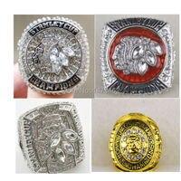 Бесплатная доставка одноцветное 1961 2010 2013 2015 Чикаго Блэкхокс Хоккей Кубка Стэнли Реплика Чемпионат кольцо Размер 11 4 шт. вместе
